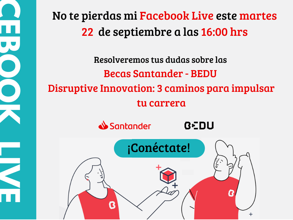 ¿Quieres aplicar a la convocatoria SANTANDER-BEDU Disruptive Innovation?