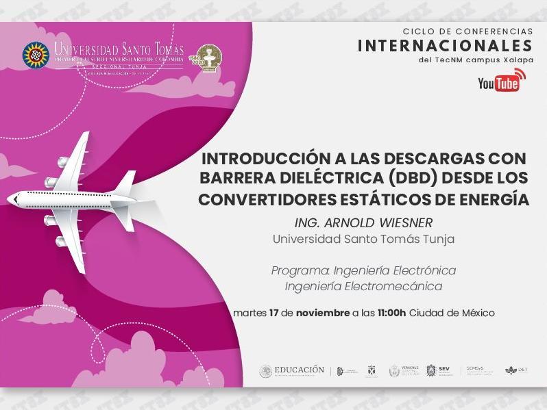Ciclo de Conferencias Internacionales del ITSX 2020