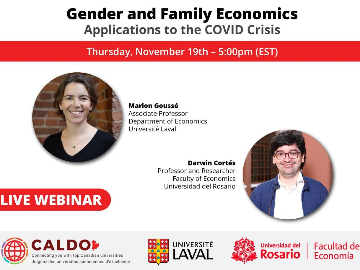 Gender and family economics: applications to the Covid crisis