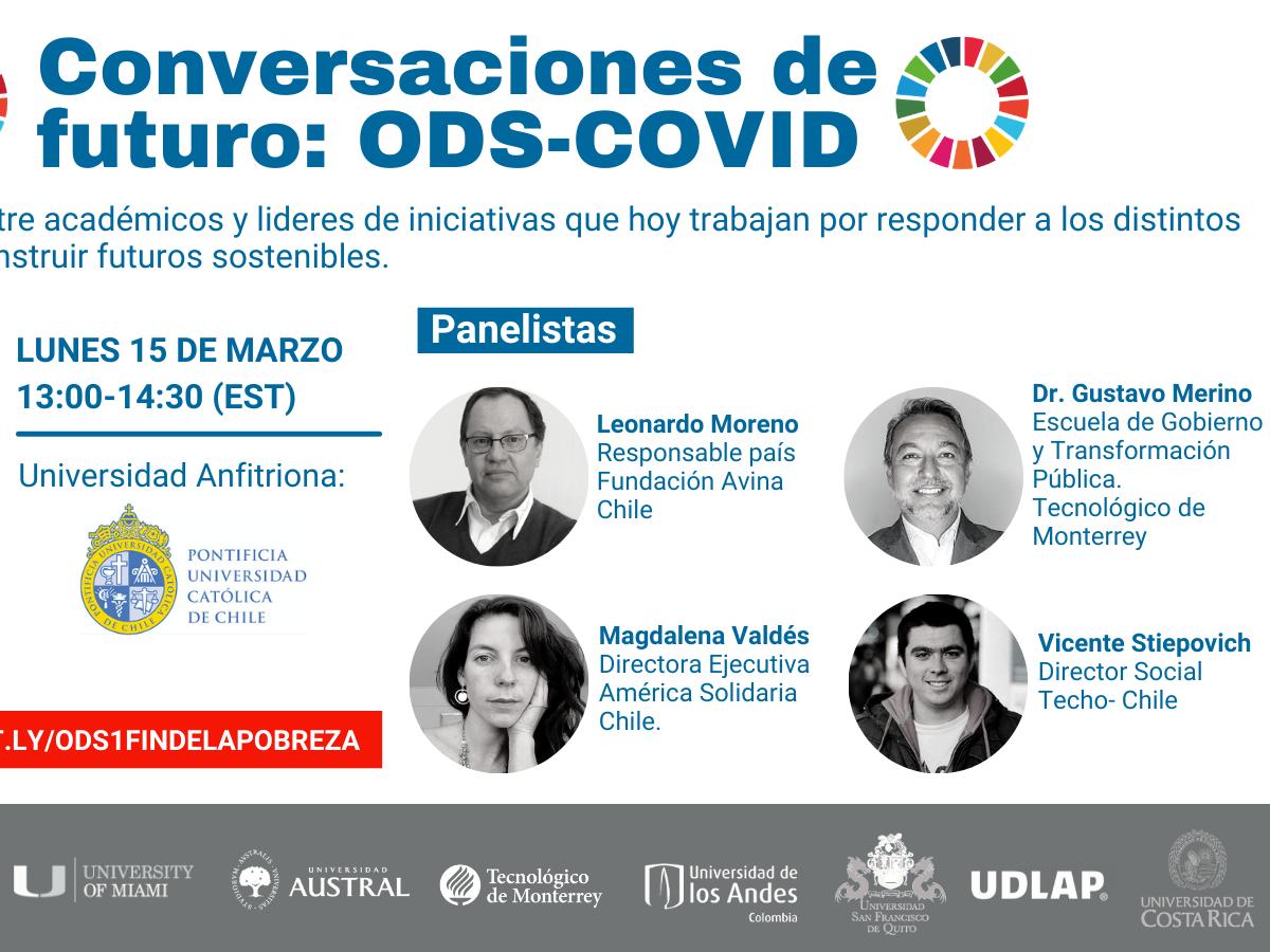 Conversaciones de Futuro: ODS-COVID. ODS 1 Fin de la Pobreza.