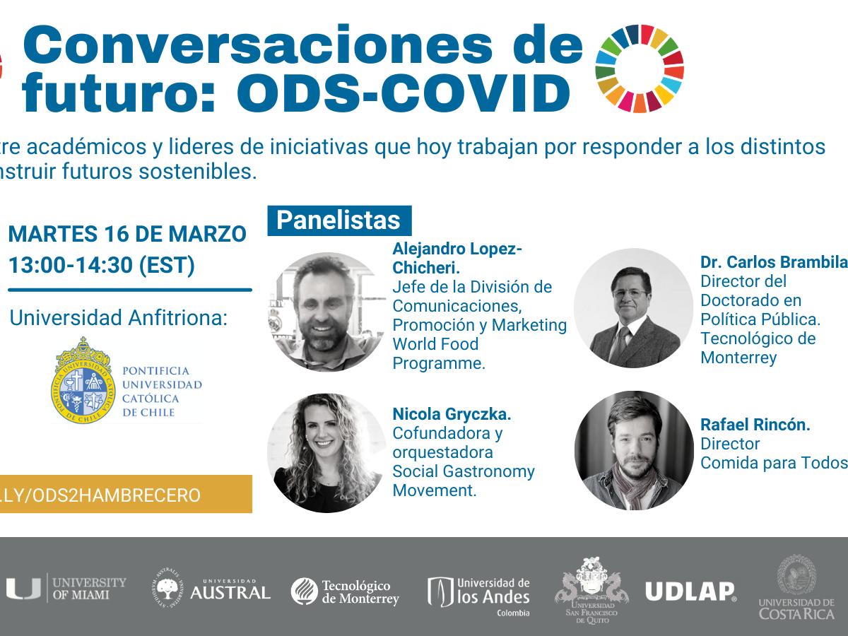 Conversaciones de Futuro: ODS-COVID. ODS 2 Hambre Cero