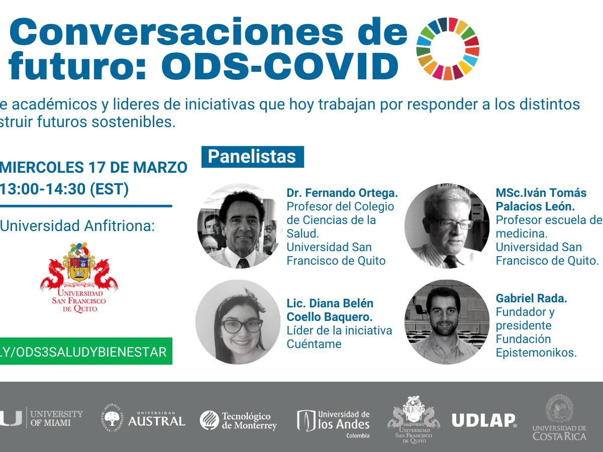 Conversaciones de Futuro: ODS-COVID. ODS 3 Salud y Bienestar