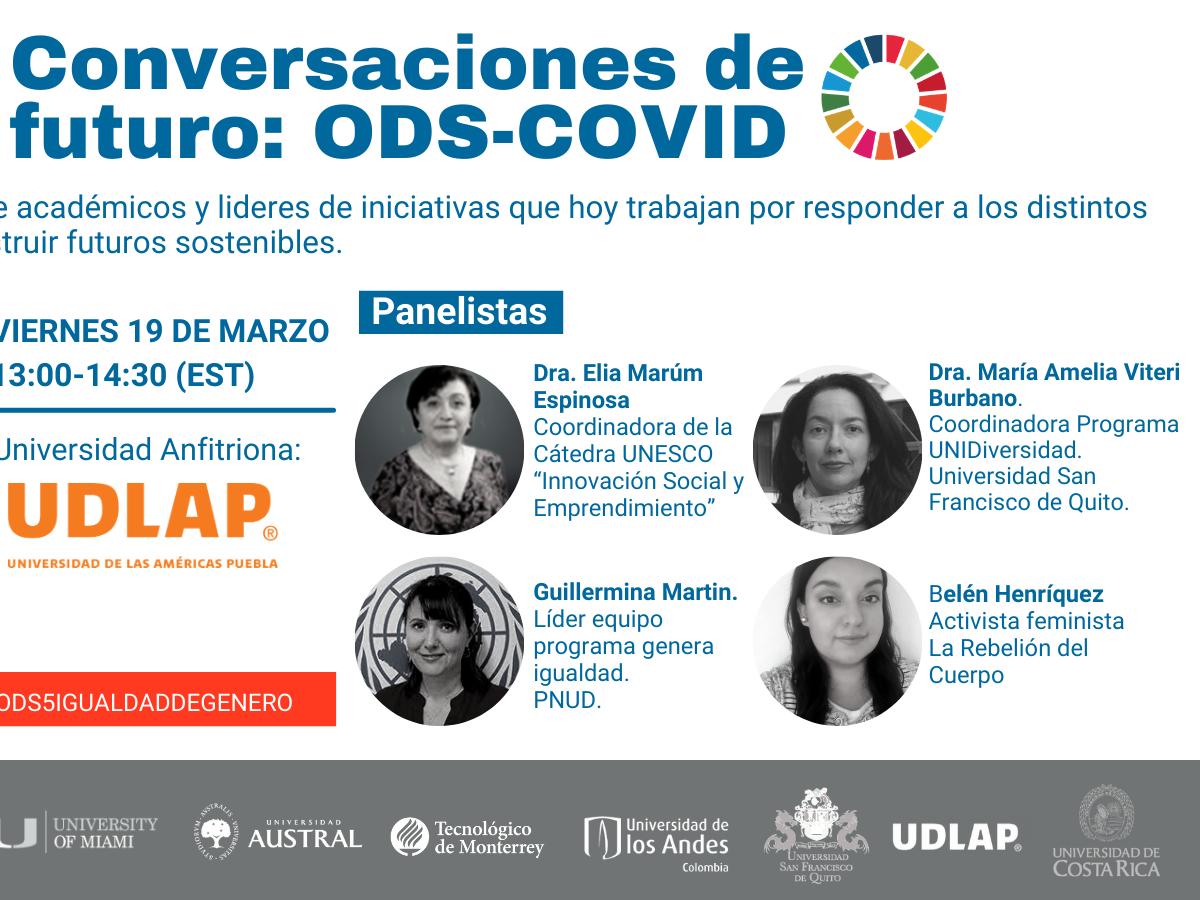Conversaciones de Futuro: ODS-COVID. ODS 5 Igualdad de genero.
