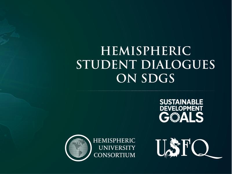 Hemispheric Student Dialogues on SDGs